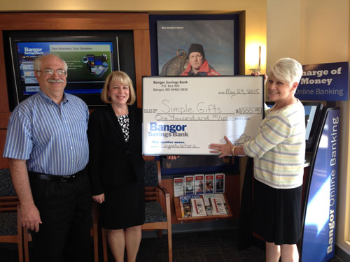 Bangor Savings Bank Donation